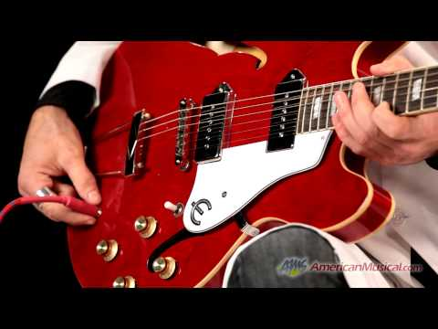Epiphone Casino Archtop Electric Guitar - Epiphone Casino