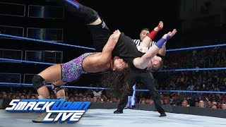 Chad Gable answers Kevin Owens' New Face of America Open Challenge: SmackDown LIVE, June 20, 2017