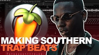MAKING A SOUTHERN TRAP BEAT IN FL STUDIO FOR YOUNG DOLPH | 2018 FL Studio Tutorial