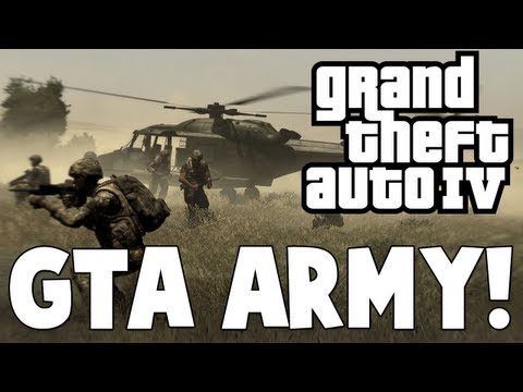 Grand Theft Auto IV - GTA ARMY (Mods)