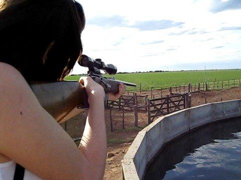 Tiro con carabina - La Pampa