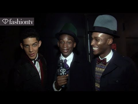 Dsquared2 Fall/Winter 2013-14: Male Models Backstage   Milan Men's Fashion Week   FashionTV