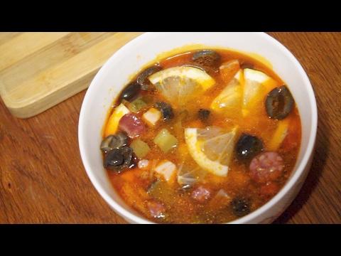 Солянка мясная рецепт с фото