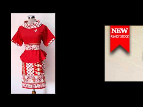 Gaun Pesta Bahan Batik | Batik Trusmi