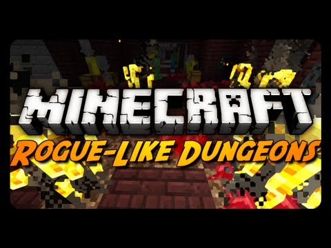 Minecraft Mod Review: RogueLike Dungeons Mod! (1.6)