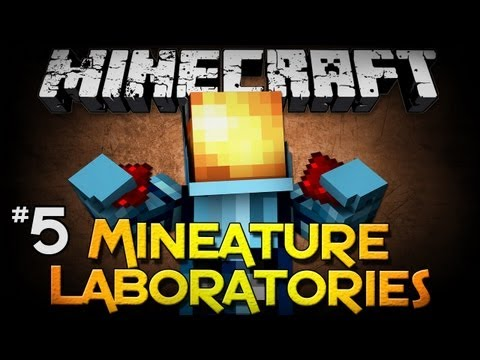 Minecraft: Mineature Laboratories - Part 5 - Let's DO DIS!