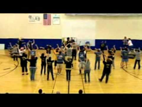 Teays Valley West Middle School OAA 2012 Flash Mob