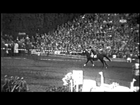 Hans Günter Winkler on Halla winning the Olympic Gold in Stockholm 1956