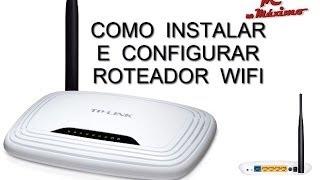 Como Instalar e Configurar Roteador WIFI