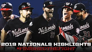 2019 Washington Nationals - Finished The Fight ᴴᴰ