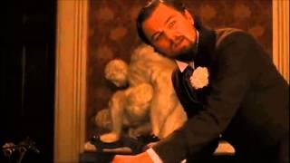 Django Unchained Leonardo DiCapario Skull Scene