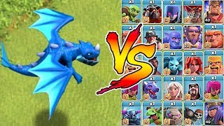 "YOU CAN'T ESCAPE ""Clash Of Clans"" E DRAGON Vs. EVERYONE!!"