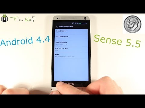 HTC One - Android 4.4 & Sense 5.5 (KitKat)