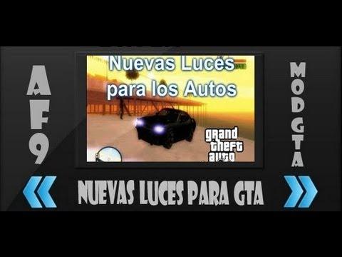 Descargar e Instalar Pack de Nuevas luces para los Autos del GTA San Andreas