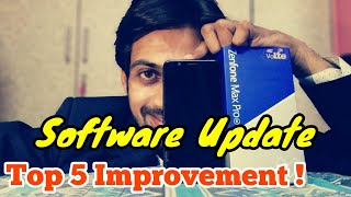Asus Max Pro M2 SOFTWARE UPDATE JULY | TOP 5 IMPROVEMENT