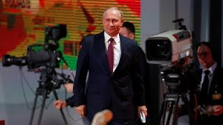 Russian president calls for joint efforts to normalize relations with US