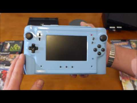 Обзор моей самодельной портативной консоль Sony PlayStation 2 PS2. часть 2