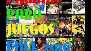 Las mejores paginas para descargar juegos para pc Full 2016