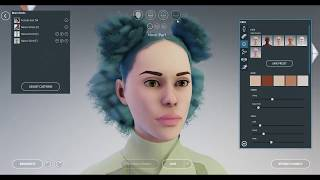 Getting Started with Sansar: Customizing Your Avatar's Face