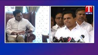 TRS Working President KTR Speaks to Media after Meet with YS Jagan - Lotus Pond  Telugu - netivaarthalu.com
