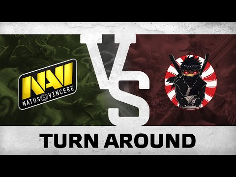 Turn around by NaVi vs Basically Unknown  DreamLeague S3