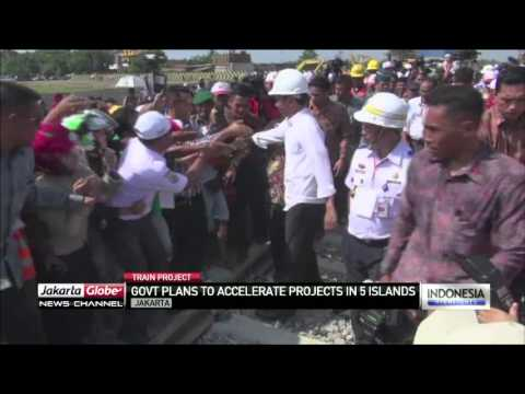 Govt Accelerates Train Projects in 5 Islands Across Indonesia