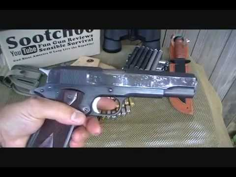 Colt Government Model 45 ACP 1911 Pistol Review