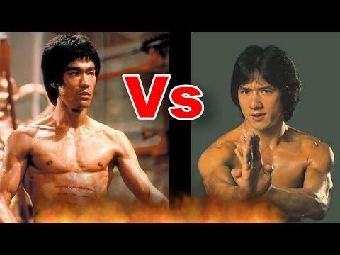 Bruce Lee vs. J... Jackie Chan Bruce Lee Jet Li