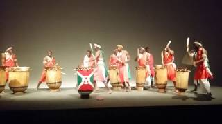 Les Tambours du Burundi en Belgique (Burundi drummers)