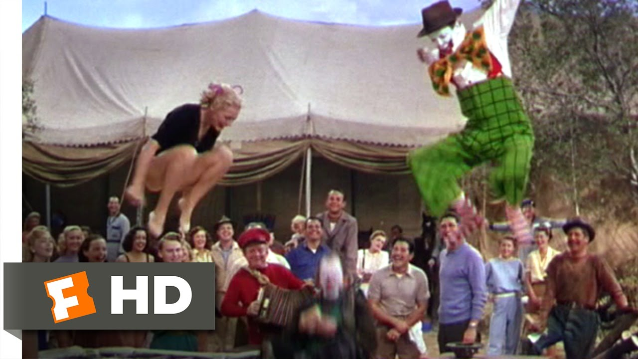 The Greatest Show on Earth (6/9) Movie CLIP - Be a Jumping