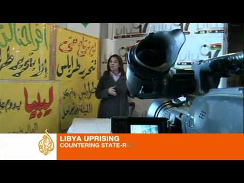 Fighting back in Libya's media war