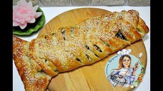 ПИРОГ СО ШПРОТАМИ! Простой рецепт рыбного пирога! Вкусный пирог с рыбой!