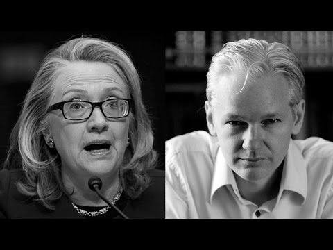 Julian Assange Responds to Hillary Clinton on Edward Snowden Getting a