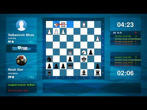 Chess Game Analysis: Salkanovic Mirza Rook Ster : 10 (By ChessFriends.com)
