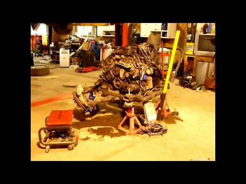 How To Take An Engine/transmission Out of a GMC Acadia, Buick Enclave, Chevrolet Traverse