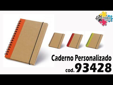 Caderno capa dura 93428 Personalizado - Criative Brindes
