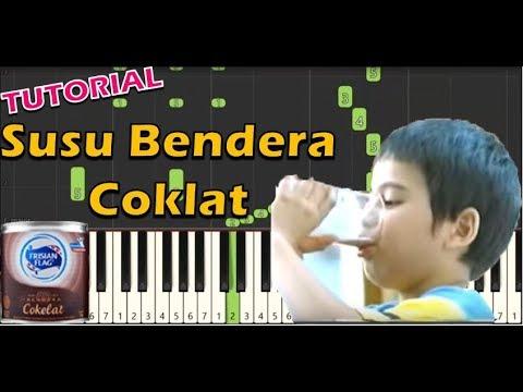Lagu Iklan Susu Bendera Coklat (Piano Tutorial)