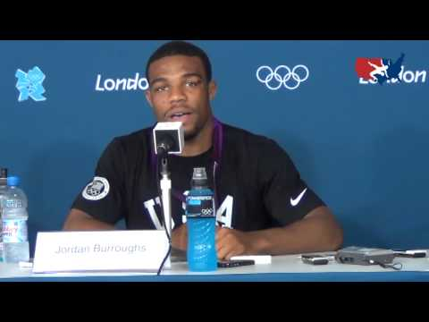 Jordan Burroughs Gold Medal Press Conference