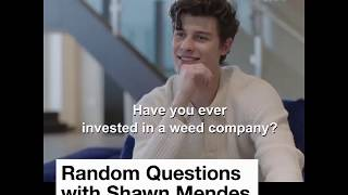 Shawn Mendes Talks About Weed Eminem Conspiracies Theories And More