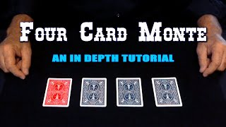 4 Card Monte (Red Black & Blue) ~ An In Depth Tutorial