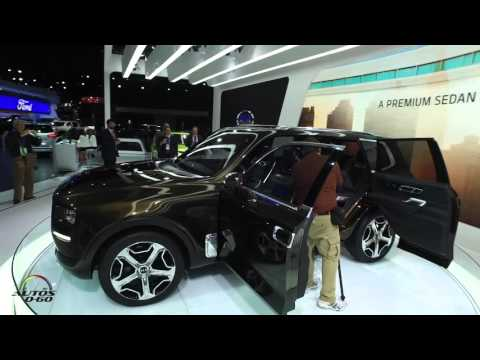 2016 North American International Auto Show Detroit, under 5 minutes