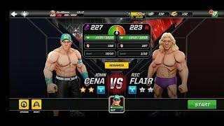 John Cena & Ric Flair WWE Raw