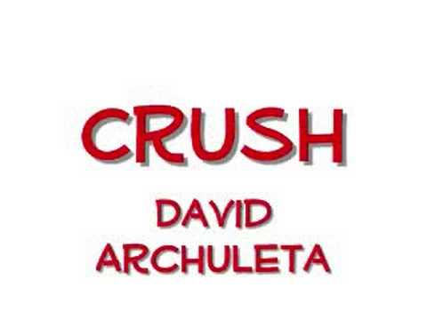 Crush-David Archuleta (Lyrics)