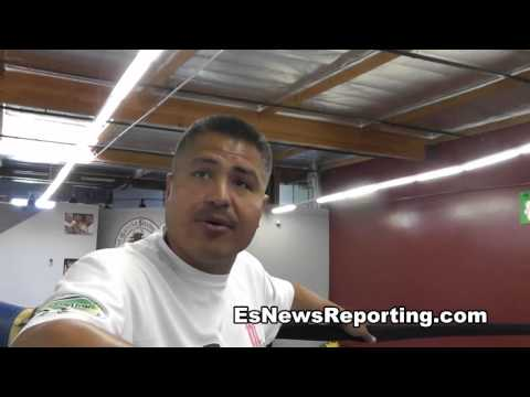 robert garcia and jesus cuellar - EsNews Boxing