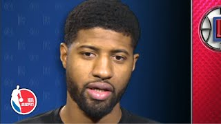 'We're both just humble dudes' - Paul George on why he and Kawhi mesh | NBA on ESPN