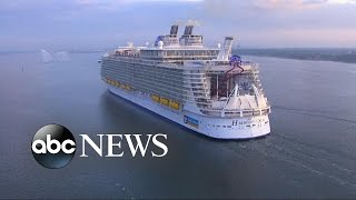 Billion Dollar Cruise Ship Prepares for Maiden Voyage