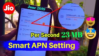 1 Smart Trick Increase Jio 4G Speed 23 Mb Like 5G Internet May 2019 | How to Increase Jio 4G Speed