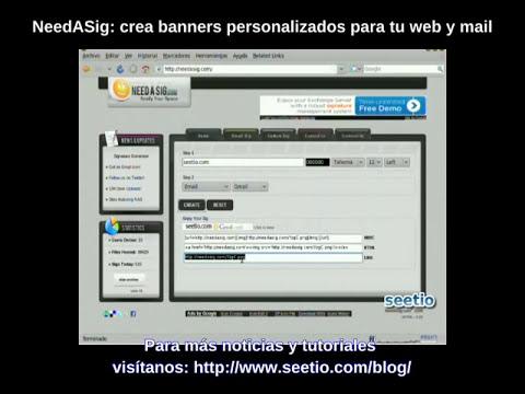 Needasig: Crea un banner personalizado para tu correo o web