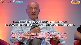 Les associations anti-tabac françaises  : le grand malaise.