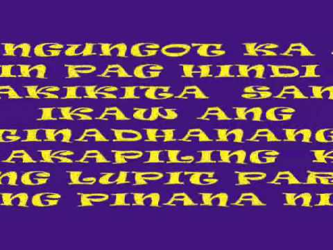 Mahal Nga Kasi Kita Lyrics Mahal na Kasi Kita by Slick